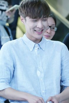 The Dimple King. Lay from EXO. (But the thing is he only wants to meet Baekhyun's grandma lol)