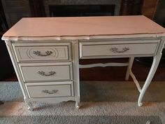 For those of you who have seen my other posts, you know that I use stain as my medium in creating furniture art.    I love the French Provincial style and recen…