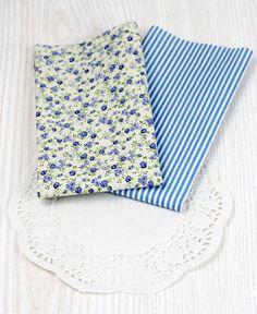 stoffe di cotone colorate (2) - righe e fiorellini