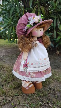 1 million+ Stunning Free Images to Use Anywhere Doll Clothes Patterns, Doll Patterns, Plush Dolls, Doll Toys, Homemade Dolls, Animal Quilts, Fabric Toys, Sewing Dolls, Waldorf Dolls