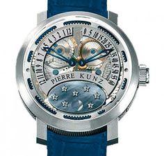 54e2883edf2 Pierre Kunz Tahiti Moon Calendário Perpétuo