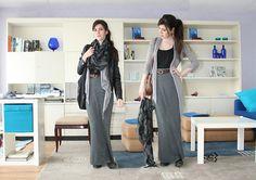 Como marca tudo, o jérsei é um perigo para a mulher que não tem um corpo de modelo, por isso prefira apostar em saias longas feitas no tecido, que podem ter um drapeado ou uma fenda.