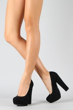 Black Chunky heels $35.99  these are so cute