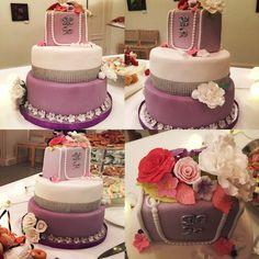 Kukkakakku, lilacake, flowercake
