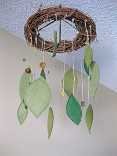 LOVE this one....would need to add a couple birds or something, but love the branches and leaves...