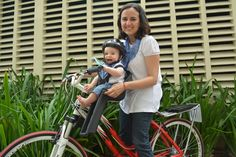 #bicicleta #bike #cadeirinha #cadeirinhaparabicicleta #industriabrasileira #crianças #infantil #aro26 #aro27 #aro29 #mãe #filho #capacete #segurança #cuidado   Veja mais em www.kalf.com.br