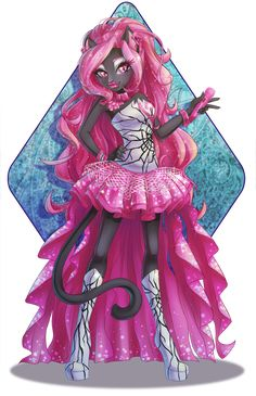 All about Monster High: Catty Noir fan art