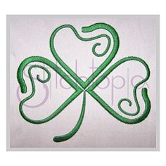Shamrock Embroidery - 10 Sizes!   What's New   Machine Embroidery Designs   SWAKembroidery.com Stitchtopia