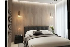 Apartament in Moscow on Behance Flat Interior, Interior Design, Sweet Home, Photo Wall, Bedroom Designs, Bedroom Ideas, Behance, House, Furniture