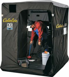 1000 images about fish house ideas on pinterest ice for Cabela s ice fishing