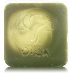 Olea Hand made olive oil soap with laurel Χειροποίητο σαπούνι ελαιολάδου με δάφνη και πράσινη άργυλο