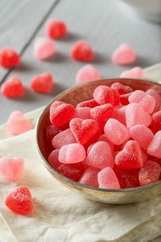 Sweed Red Heart Shaped Candy by brenthofacker IFTTT Cute Food Wallpaper, Candy Photography, Tout Rose, Heart Shaped Candy, Good Food, Yummy Food, Candy Shop, Confectionery, Chocolate Desserts