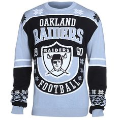 Oakland Raiders Cotton Retro Sweater from UglyTeams