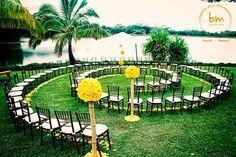 altar de bodas al aire libre - Buscar con Google