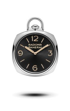POCKET WATCH 3 DAYS ORO BIANCO PAM00529 - Collection Pocket watch - Montres Officine Panerai