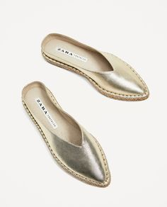 Image 3 of FABRIC MULES from Zara