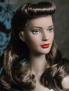 About Betty Paige: Hairstyle by Laurie Leigh.