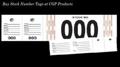 Buy Stock Number Tags online at CGP Products which are available in 000-9999 numbers and keep the track of your vehicle inventory. Two stickers peel off and the tag sticks to the window. For more details log on to https://www.cgpproducts.com/dealer-supplies/stock-stickers/stock-number-tags