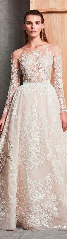 #zuhairmurad #bridalgown #fall2018 #weddingdress
