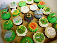 Cupcakes Lord of the ring