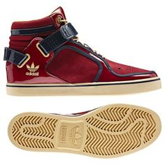 adidas adi-Rise Shoes Cardinal/New Navy! Quero um NOW! <3