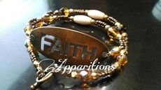 "Apparitions ""Faith"" Wrap Bracelet"