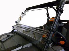 Can Am Maverick X3 Hard Coated Polycarbonate Short Shield   77-2350