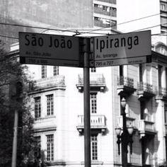 Av São João com Av Ipiranga