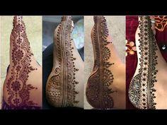 Feet Mehndi Design Photos only || New Mehndi Design 2018 - YouTube New Mehndi Designs 2018, Bridal Mehndi Designs, Henna Designs, Mehndi Design Pictures, Mehndi Images, Mehendi Arts, Mehndi Tattoo, Henna Patterns, Henna Art