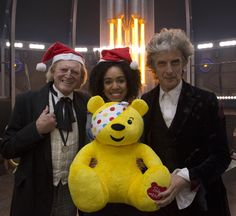 Pudsey and the Doctors!