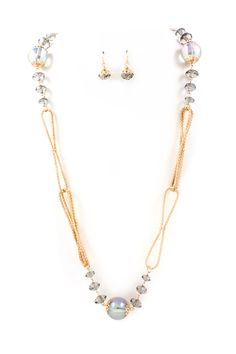 Delphine Crystal Necklace | Emma Stine Jewelry Necklaces
