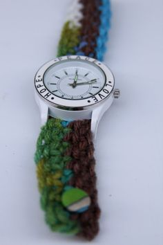 Crocheted watch bands!