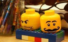 Saleiro e pimenteiro LEGO