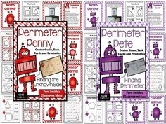 Perimeter Mega Math Pack - Discounted Bundle For 3.MD.D.8 1. Perimeter and 2. Finding the Unknown Side for Perimeter #TPT $Paid