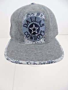 49f130496af Ball Cap  NFL Dallas Cowboys ~ Adjustable ~ Gray