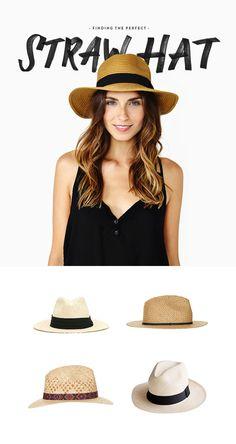 The Perfect Straw Hat | Eva Black Design