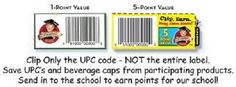 Labels for Education instructions