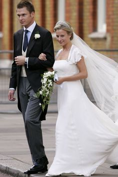 Lady Rose Windsor – the daughter of the Duke of Gloucester, the Queen's cousin – tied the knot with George Gilman, the son of Peter Gilman, a former director of Leeds United football club on 19 July 2008.