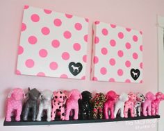 ✦ Pinterest: @Lollipopornstar ✦ Victoria's Secret PINK mini dogs | Decor