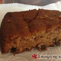 Σταφιδόψωμο κέικ