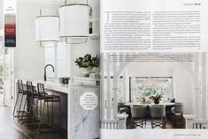House and Garden, April 2018 - Renovation Special, Featured Bangalow Project. Oversized Mirror, Garden, Projects, House, Furniture, Home Decor, Log Projects, Garten, Blue Prints