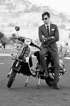 Menswear, Mens Style, Mens Fashion, Clothing, Fancy, 1960's Style, 1960's Inspired, Vespa