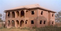 Nigeria Office Block Brick, Success, Mansions, House Styles, Home Decor, Decoration Home, Room Decor, Bricks, Fancy Houses
