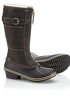 Sorel boots. By most accounts, some of the very best boots you'll ever wear. Expensive, but if they last forever, they'll be worth it. Go for waterproof and warm.