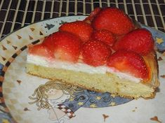 Rychlý jahodový koláč