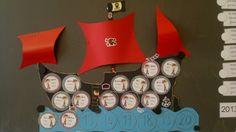 bateau pirate des présents