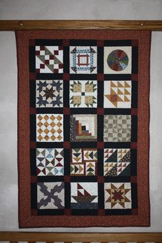 Quilt In A Day : Underground RailRoad  No way can this be done in a day. I can't even paint this in a day.....lots of work in this quilt.