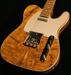 2016 Fender Custom Shop Artisan Telecaster with spalted maple top
