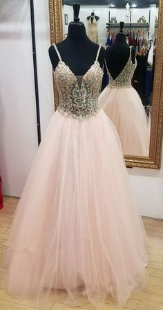 Charming Prom Dress,A-Line Evening Dresses,Tulle Prom Dresses,Beading Prom Gown, Shop plus-sized prom dresses for curvy figures and plus-size party dresses. Ball gowns for prom in plus sizes and short plus-sized prom dresses for Prom Dresses 2018, Plus Size Prom Dresses, Backless Prom Dresses, Prom Dresses For Sale, Tulle Prom Dress, Dresses For Teens, Wedding Party Dresses, Dress Party, A Line Evening Dress