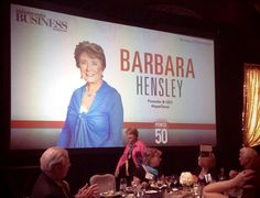 Celebrating Barbara Hensley's (Real) Power 50 Award with Minnesota Business Magazine! ‪#‎mnbizpower50‬
